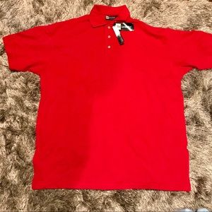 Blue Generation Red Stain Release Polo